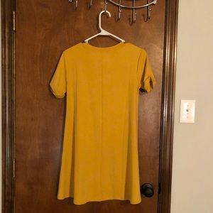 Forever 21 Dresses - A mustard color T-shirt dress from Forever 21 03d9a19ea566